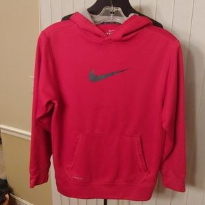 Nike boys size L Therma fit hoodie